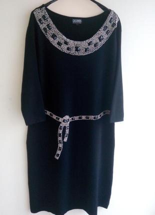 Платье трикотажное casamia o.l
