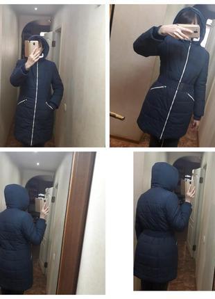 Куртка женская daser, зимняя, тинсулейт,теплая,с капюшоном