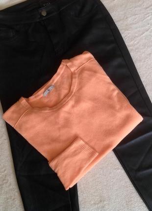 Нежно-персиковый свитерок от  tu
