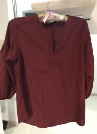 Блузка з рукавами фонариками