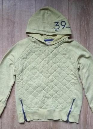 Толстовка-кофта для мальчика, балахон с капюшоном zara от 7 до 8 лет
