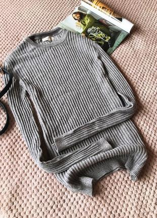 River island свитер в рубчик