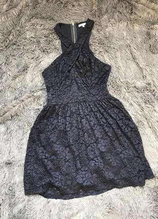 Кружевное платье river island