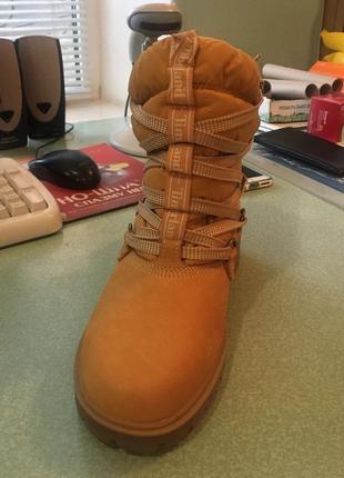 Супер классные зимние ботинки timberland