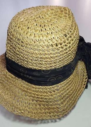 Шляпа соломенная walt disney, 55-56 р., как новая!