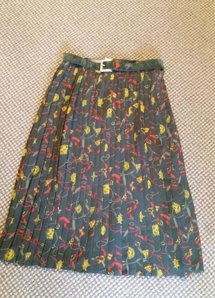Стильнейшая юбка плиссе  klein petit paris