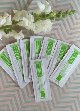 Пробник крема для глаз от purito centella green level eye cream