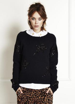 Теплый свитер в звездах fabienne chapot