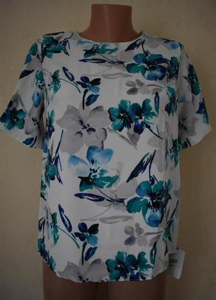 Новая блуза с принтом
