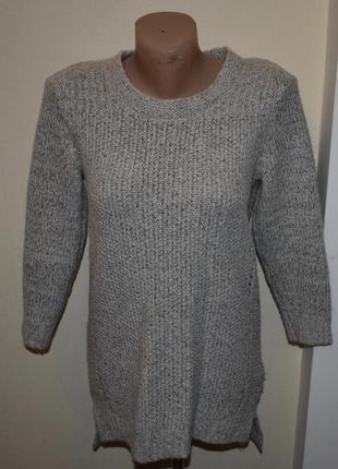 Очень тёплый и стильный свитер