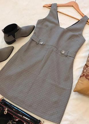 Элегантное повседневное платье в принт new look