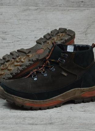 Мужские зимние ботинки zg brown style