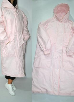 Пуховик одеяло куртка зефирка оверсайз на синтепоне .