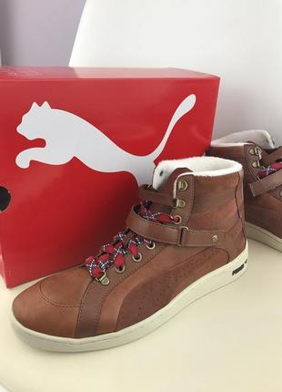 Оригинал puma the key alpine tortoise shell brown