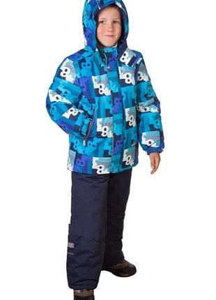 Комплект зимний lenne р.122 куртка, полукомбинезон. новый.