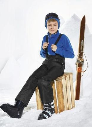Лыжный мембранный комбинезон, штаны crivit sports, германия, р.122-128