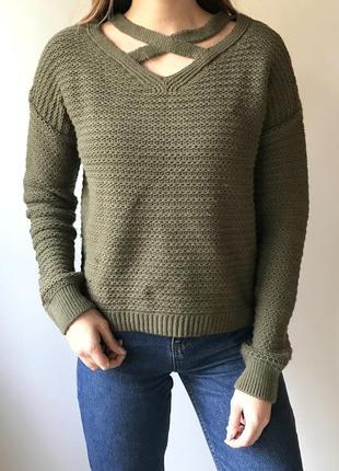 Стильный свитер , теплый) primark