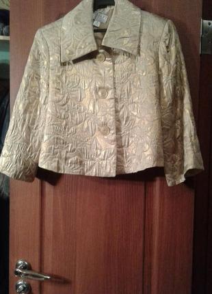 Пиджак парча