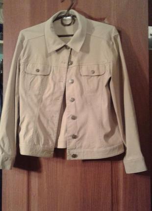 Куртка жакет лен+стрейч