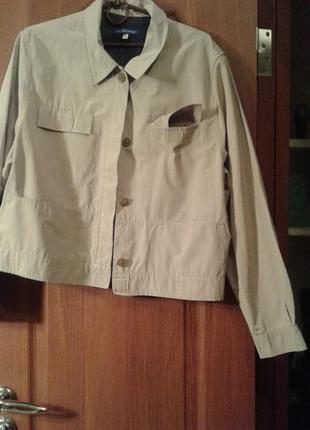 Куртка жакет натуральная ткань