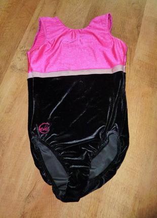 Chelle sports спортивный купальник, гимнастическое трико , р 34 (на 14-15 лет) ,