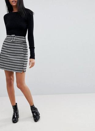 Красивая юбка, шерсть asos