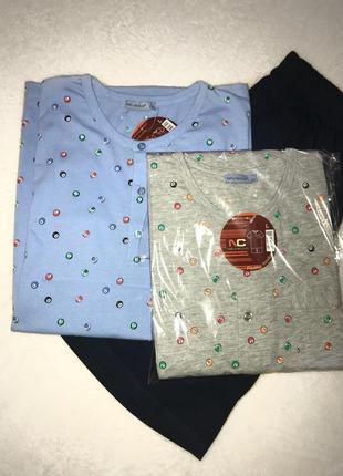 Мужская  хлопковая пижама для горячих мужчин в размере l,xl,xxl