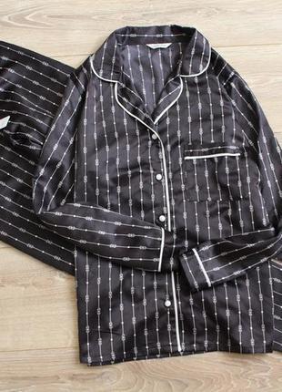 Сатиновая пижама 10,12 р-р