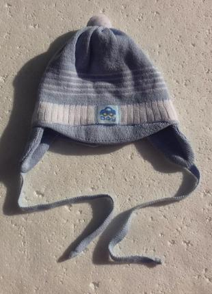 Grans. осенняя шапка на младенца 38-40 см