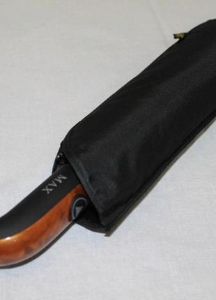 Чёрный мужской зонт