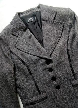 Пиджак жакет теплый oggi2 фото