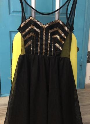 Яркое черное платье на halloween 🎃