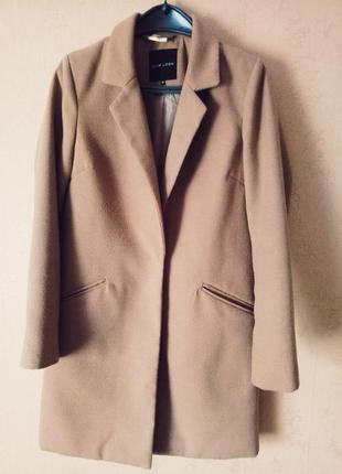 Пальто - бойфренд new look