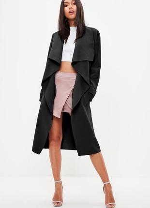 Стильное пальто missguided. хс-с6 фото