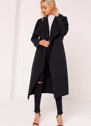Стильное пальто missguided. хс-с2 фото