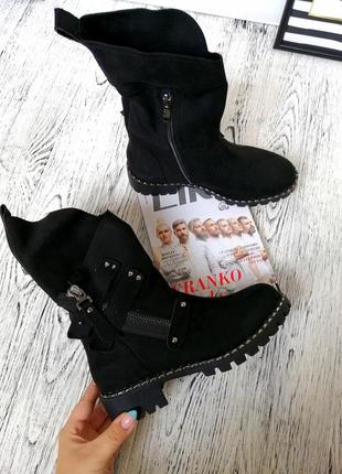 Качественные зимние ботинки зима  37 38 39
