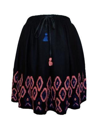 Крутая пышная юбка солнце на фатиновой подкладке от бельгийского бренда cks
