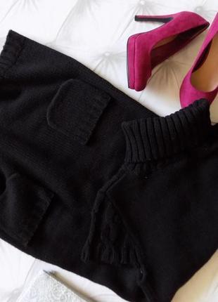 """Тёплое платье, гольф, """"new look"""", р-р  12/402"""