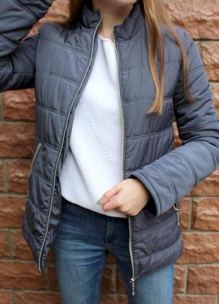 Классическая зимняя куртка, теплый короткий пуховик личного пошива!!!