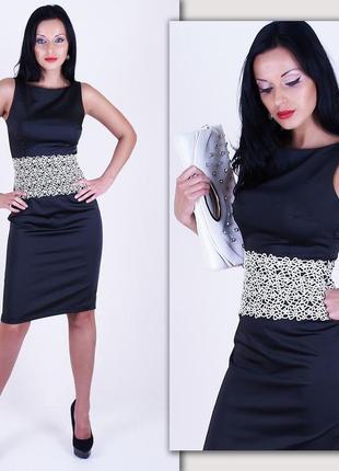 Очень красивое платье миди