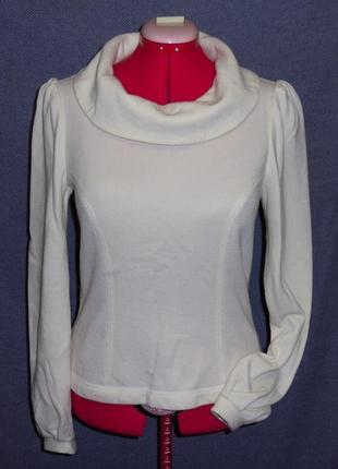 Блуза свитер шерстяной трикотаж