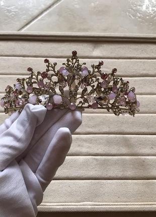 Ювелирная свадебная бижутерия, диадемы, короны.