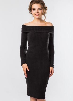 Шикарное теплое платье-хомут   xs, s, m, l.2
