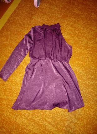 Красивое ассиметричное платье