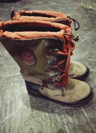 Сапоги на шнуровке, ботинки timberland