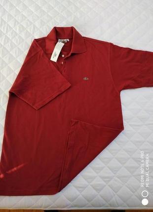 Новая мужская футболка lacoste