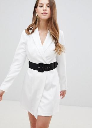 Платье блайзер с поясом asos,р-р 8