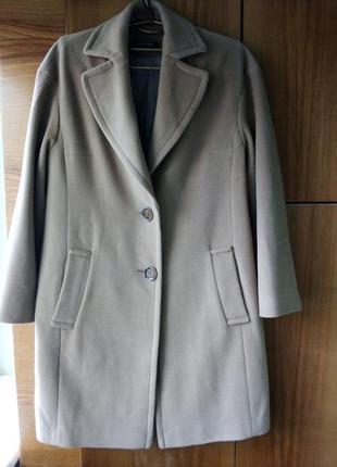 Нюдовое пальто