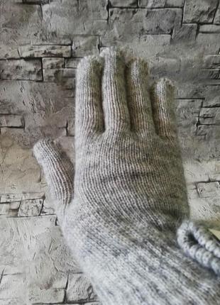 Итальянские перчатки, с мохером и шерстью, c&a