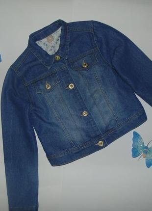 Джинсовый пиджак джинсовая куртка tu